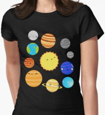 The Solar System Women's Fitted T-Shirt