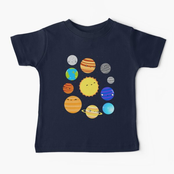 The Solar System Baby T-Shirt