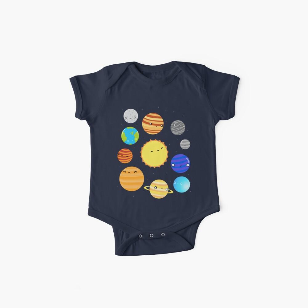 El sistema solar Body para bebé