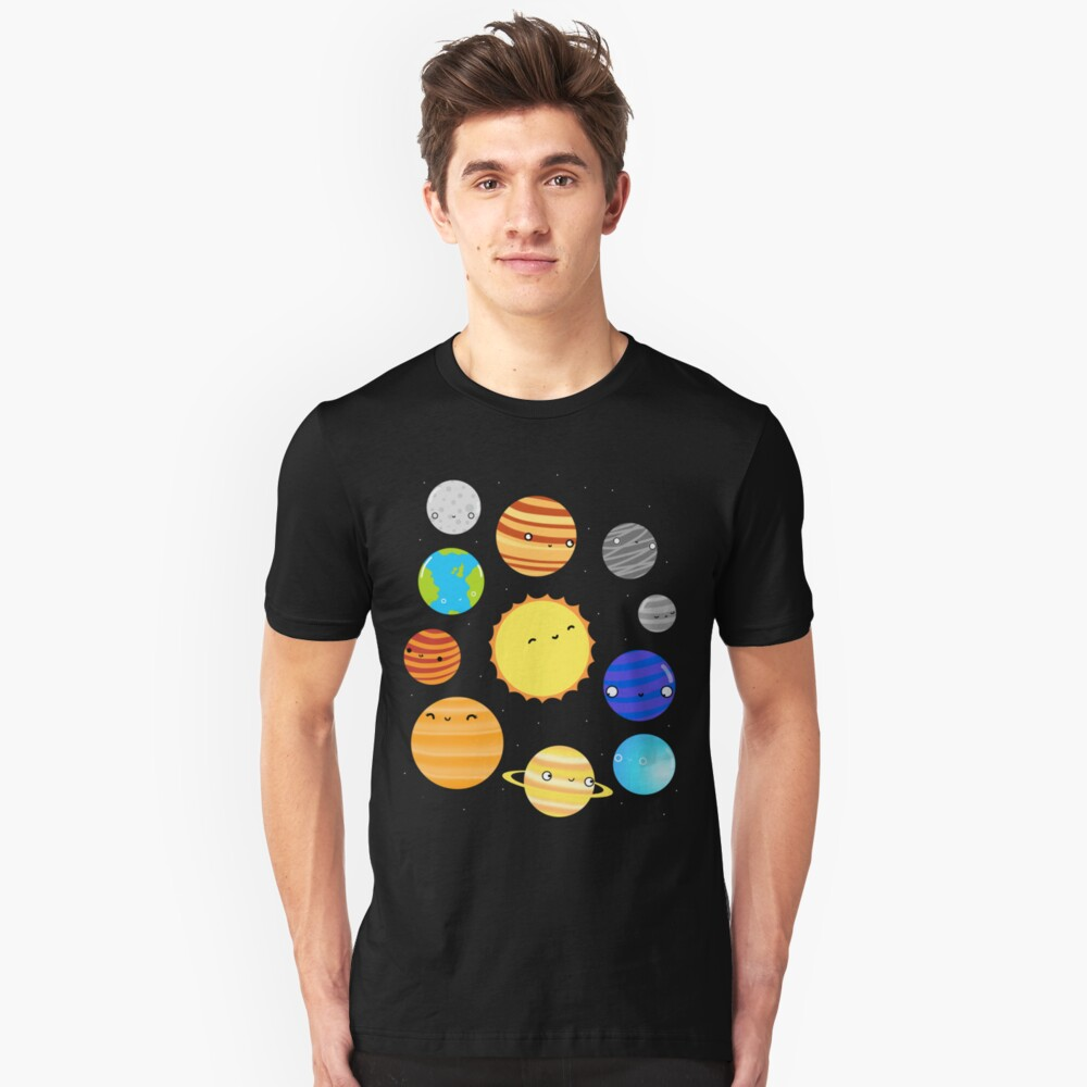 The Solar System Slim Fit T-Shirt