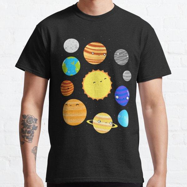 El sistema solar Camiseta clásica