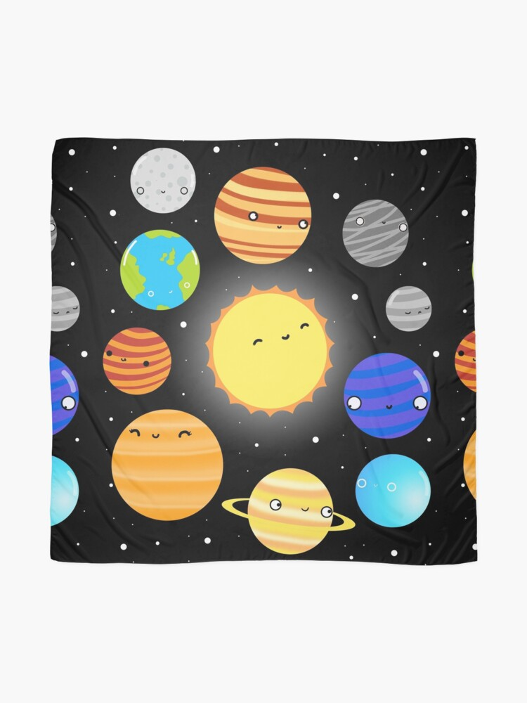 Alternate view of The Solar System Scarf