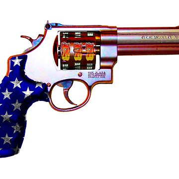 .45ACP, Are You Felling Lucky USA Casino 7'S Slot Gun by worn