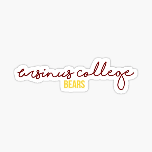 Ursinus College Bears Sticker