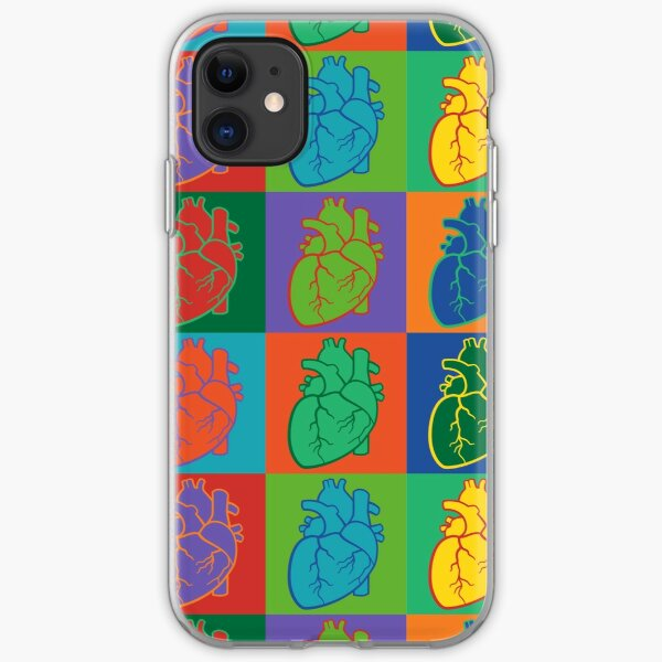 Pop Heart iPhone Soft Case