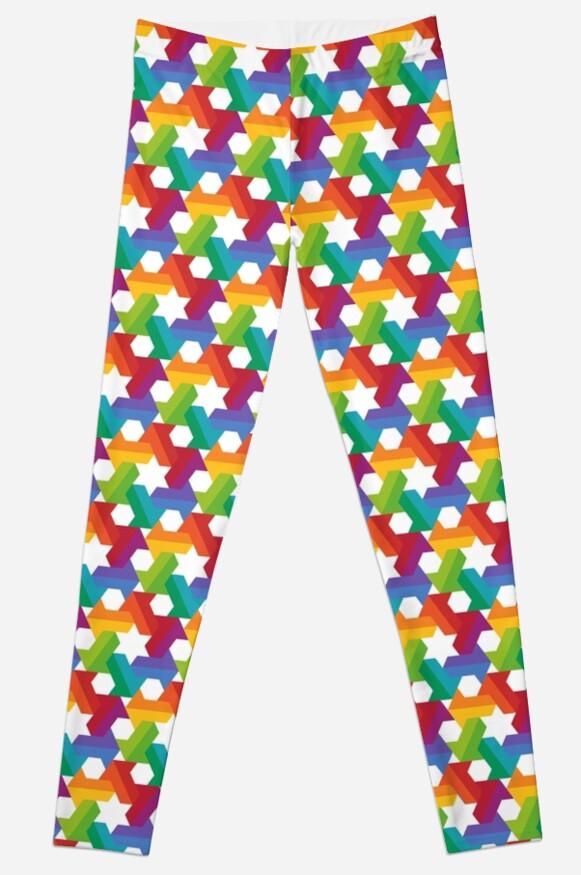 Rainbow Star Pattern by codyjoseph