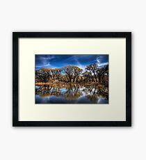 Willow Creek Cove Framed Print