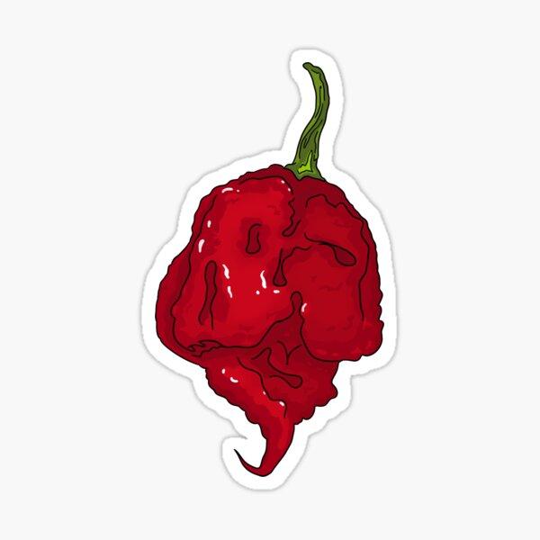 Moruga Scorpion Super Hot Pepper Design Enamel Pin