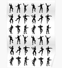 Dancing Emotes Poster