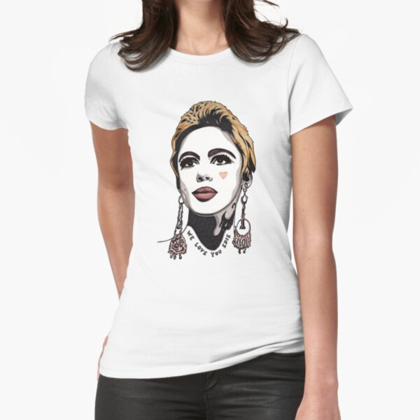 We Love You Edie t-shirt Fitted T-Shirt