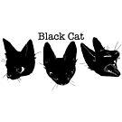 Schwarze Katze von micksteeze