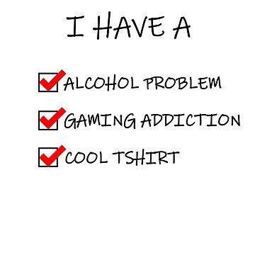 Alcoholic Gamer by Purpleandorange