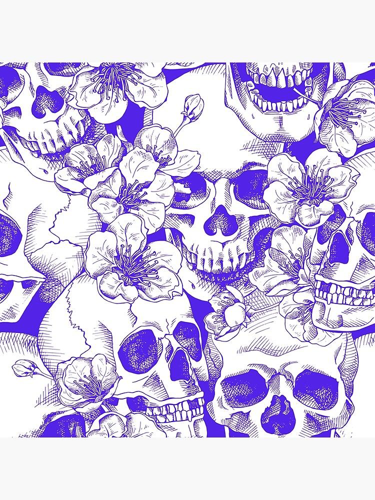 Calaveras y flores de PaperDecorator