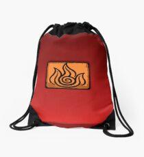I am a Firebender Drawstring Bag