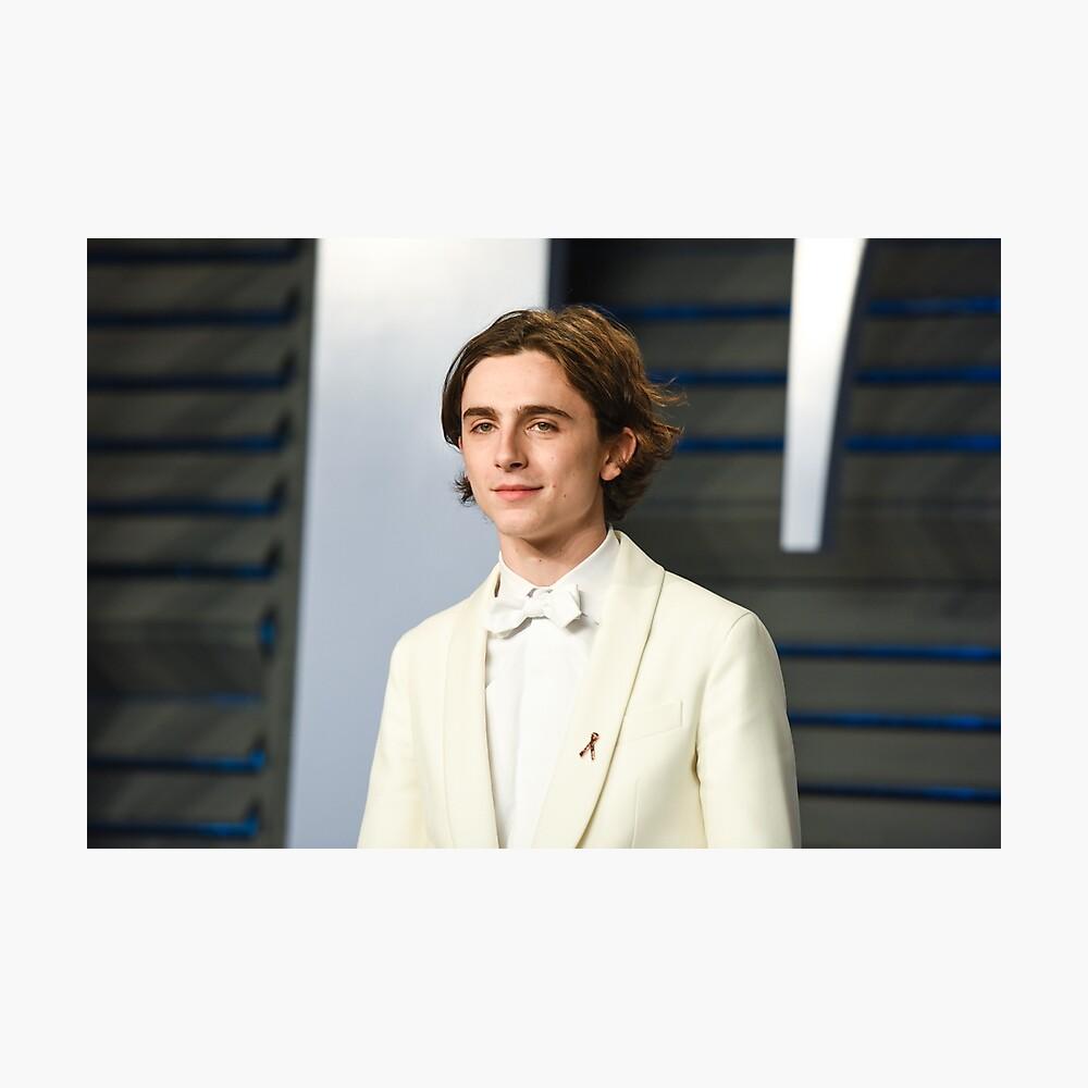 Timothée Chalamet Oscars 2018 Fotodruck
