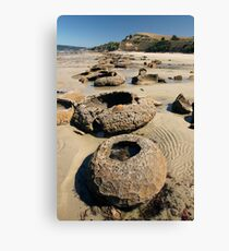 Beach Bowl-ders Canvas Print
