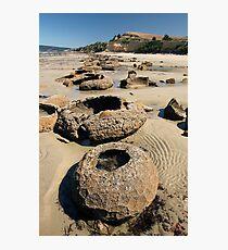 Beach Bowl-ders Photographic Print