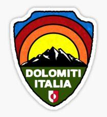 Ski Dolomiti Italia Skiing Tyrol Dolomites Italy Sticker