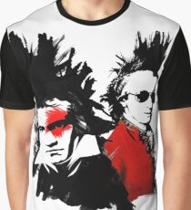 Beethoven Mozart Punk Graphic T-Shirt