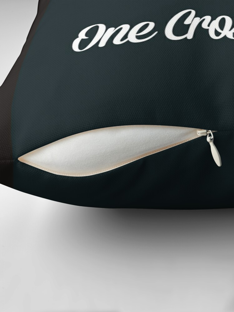 Alternate view of OCR Black Floor Pillow