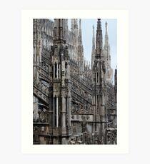 Milano Duomo  Art Print