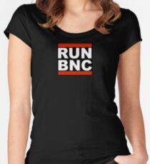 RUN BNC Women's Fitted Scoop T-Shirt