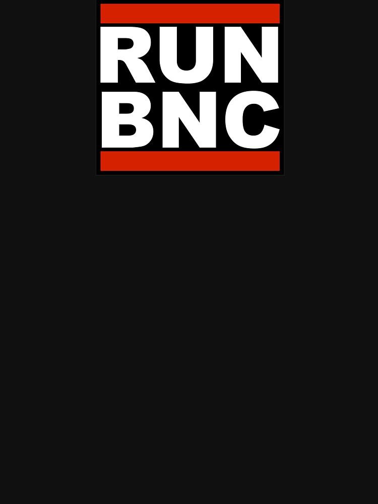 TShirtGifter presents: RUN BNC | Unisex T-Shirt