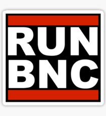 RUN BNC Sticker