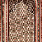 Sehna Kurdish North West Persian Antique Kilim by Vicky Brago-Mitchell