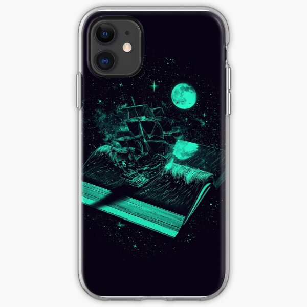 Crossing the Rough Sea of Knowledge iPhone Soft Case