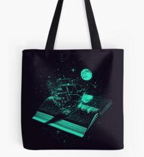 Crossing the Rough Sea of Knowledge Tote Bag