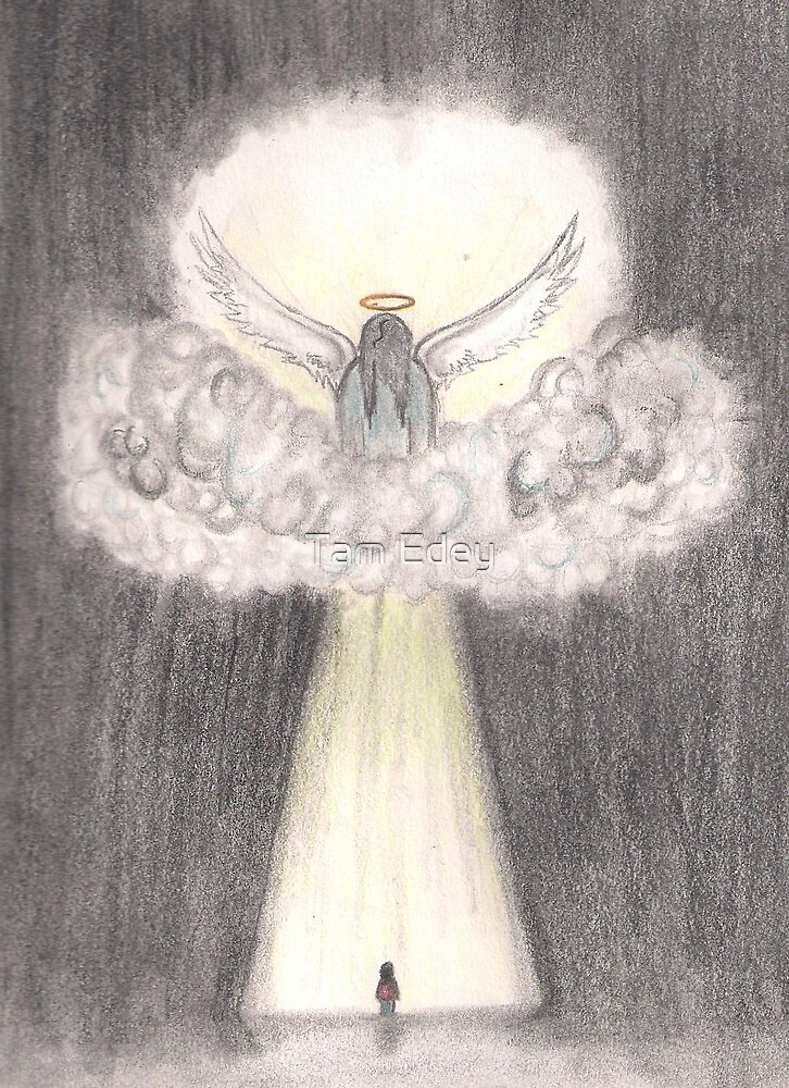 Angel, Shine Your Light On Me by Tam Edey