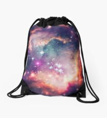 The Universe under the Microscope (Magellanic Cloud) Drawstring Bag