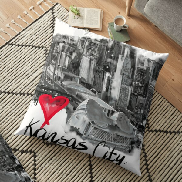 I love Kansas City Floor Pillow