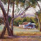 Woolshed at Glenaroua by Lynda Robinson