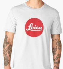 Camiseta premium para hombre Logo de leica