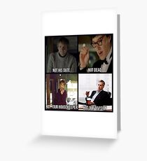 Sherlock BBC Cast Greeting Card