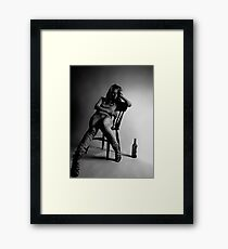 seeking oblivion Framed Print