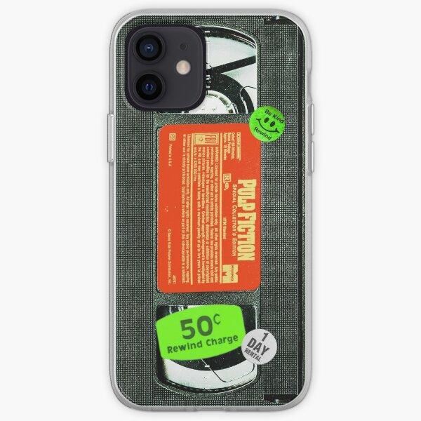 Pulp VHS Fiction  iPhone Soft Case