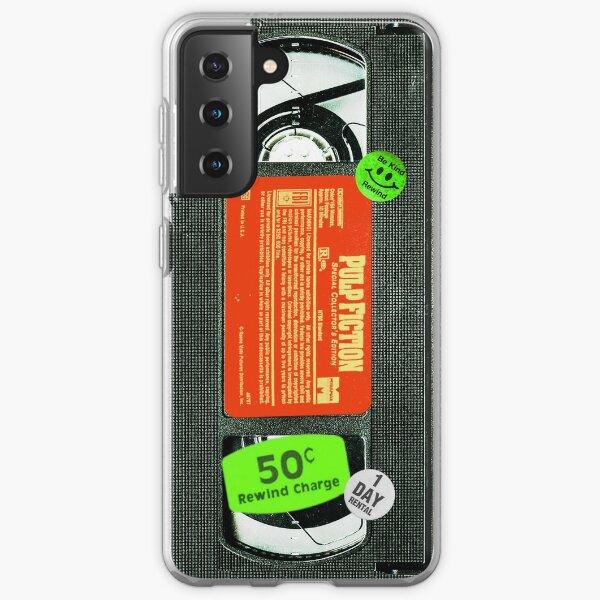 Pulp VHS Fiction  Samsung Galaxy Soft Case