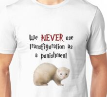 We NEVER Use Transfiguration As A Punishment Unisex T-Shirt