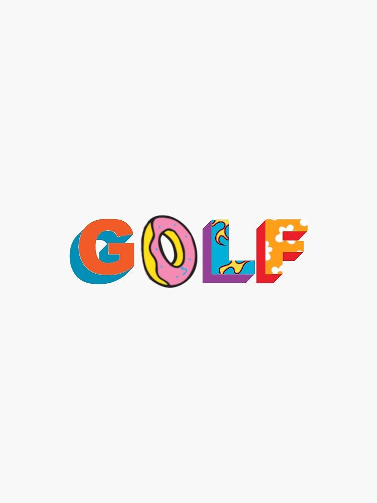 Pegatina Futuro Odd Golf Wang de searcherdesigns