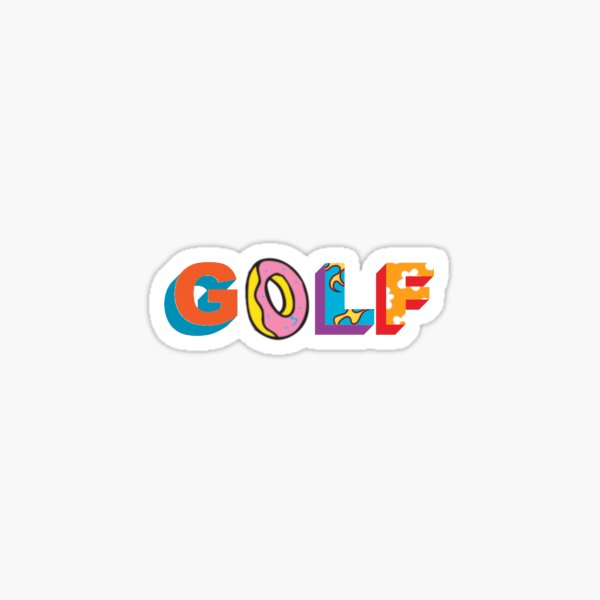 Golf Wang Odd Future Sticker Sticker