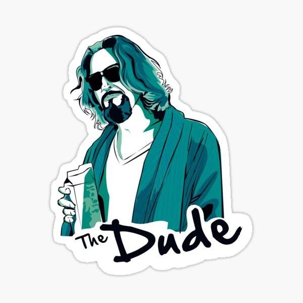 The Dude, The big Lebowski Sticker