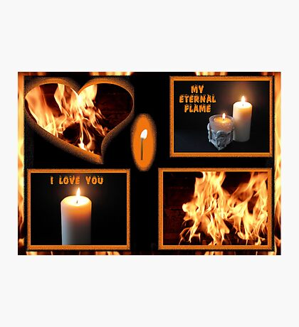 From A Flicker To A Flame Photographic Print