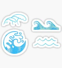 Waves Set Sticker