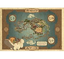 Avatar Map Photographic Print