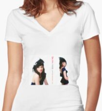 Fascinator Sisters  Women's Fitted V-Neck T-Shirt