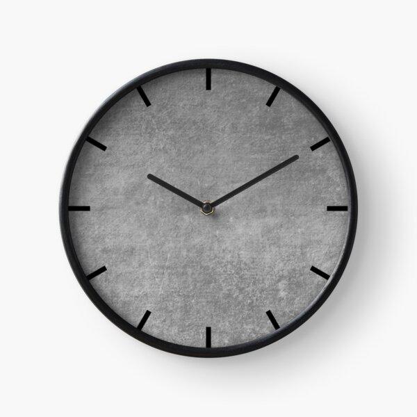 Plain Concrete Clock