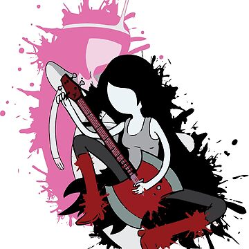 Hora de aventuras - Princess Bubblegum y Marceline the Vampire Queen - Bubbline de rainbowdreamer